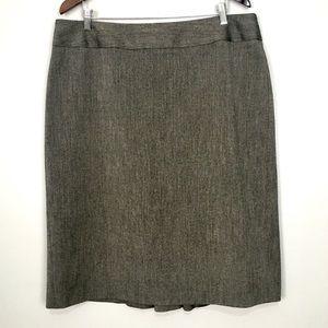 Long Tall Sally Pencil Skirt Ruffle Back Workwear